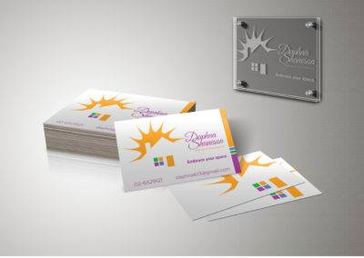Logo and Business Card for Home Organizer